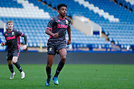 Leeds United Bryce Hosannah (2)  during the U23 Professional Development League match between U23 Sheffield Wednesday and U23 Leeds United at Hillsborough, Sheffield, England on 3 February 2020.