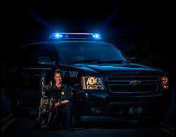 Law Enforcement and K-9 portrait
