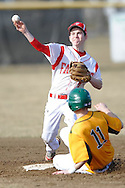 Firelands at Amherst varsity baseball on March 31, 2014. © David Richard.May not be copied, posted, published or printed without permission.