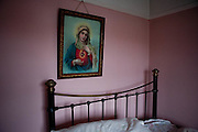 Bedroom and Our Lady.  Things as they were in my Uncle's house in the days of his passing, before time could alter.