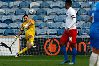 Ben Hinchliffe. Stockport County FC 1-1 Dagenham & Redbridge. Vanarama National League. Edgeley Park. 11.5.21