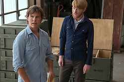 RELEASE DATE: September 29, 2017 TITLE: American Made STUDIO: Universal Pictures DIRECTOR: Doug Liman PLOT: A pilot lands work for the CIA and as a drug runner in the south during the 1980s. STARRING: TOM CRUISE as Barry Seal, DOMHNALL GLEESON as Monty Schafer. (Credit Image: ? Universal Pictures/Entertainment Pictures/ZUMAPRESS.com)