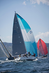 Sailing - SCOTLAND  - 25th-28th May 2018<br /> <br /> The Scottish Series 2018, organised by the  Clyde Cruising Club, <br /> <br /> First days racing on Loch Fyne.<br /> <br /> IRL1335, Spirit of Jacana, AlanBruceJames Douglas, Carrickfergus SC <br /> <br /> Credit : Marc Turner<br /> <br /> <br /> Event is supported by Helly Hansen, Luddon, Silvers Marine, Tunnocks, Hempel and Argyll & Bute Council along with Bowmore, The Botanist and The Botanist