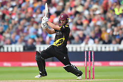 Somerset's Corey Anderson bats during the Vitality T20 Blast Semi Final match on Finals Day at Edgbaston, Birmingham.