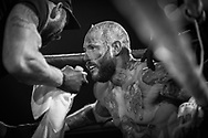 Ultimate bare-Knuckle boxing competition at Manchester's Bowlers Exhibition Centre, Old Trafford, Manchester, UK.<br /> Photo shows<br /> Photo ©Steve Forrest/Workers' Photos