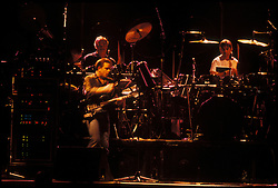 The Grateful Dead Live at the Knickerbocker Arena, Albany NY, 24 March 1990. View from the Lighting Booth, Dead Center, Floor. Shot during Desolation Row.