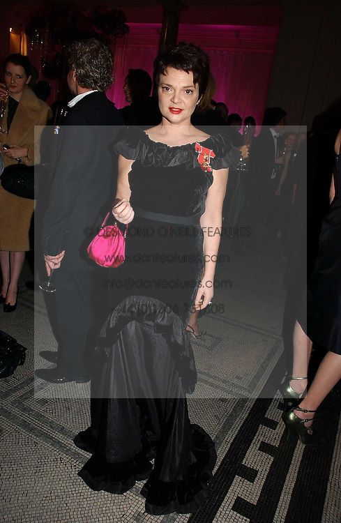 LULU GUINNESS at the British Fashion Awards 2006 sponsored by Swarovski held at the V&A Museum, Cromwell Road, London SW7 on 2nd November 2006.<br /><br />NON EXCLUSIVE - WORLD RIGHTS