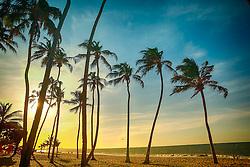 Por-do-sol na Praia de Cumbuco localizada no município de Caucaia, a 30 km da capital, Fortaleza no estado do Ceará. FOTO: Jefferson Bernardes/ Agência Preview