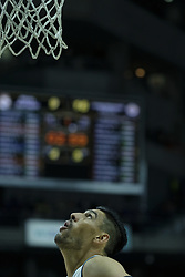 March 2, 2018 - Madrid, Madrid, Spain - Gustavo Ayn of Real Madrid in action  during the Turkish Airlines Euroleague basketball match between Real Madrid and Fenerbahce Dogus at the Wizink Center in Madrid, Spain on March 2, 2018. Photo: Oscar Gonzalez/NurPhoto  (Credit Image: © Oscar Gonzalez/NurPhoto via ZUMA Press)
