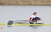 Eton, Great Britain,   Women's single scull final,  Kath GRAINGER in the A final at the 2010 GBRowing Trials, Dorney Lake. Berks. Sunday  11:10:28 [Mandatory Credit. Peter Spurrier/Intersport Images]