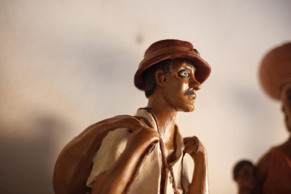 Ponto dos Volantes_MG, Brasil.<br /> <br /> Imagens do trabalho de uma artista em Ponto dos Volantes, Minas Gerais.<br /> <br /> Images of a craft in Ponto dos Vonlantes, Minas Gerais.<br /> <br /> Foto: LEO DRUMOND / NITRO