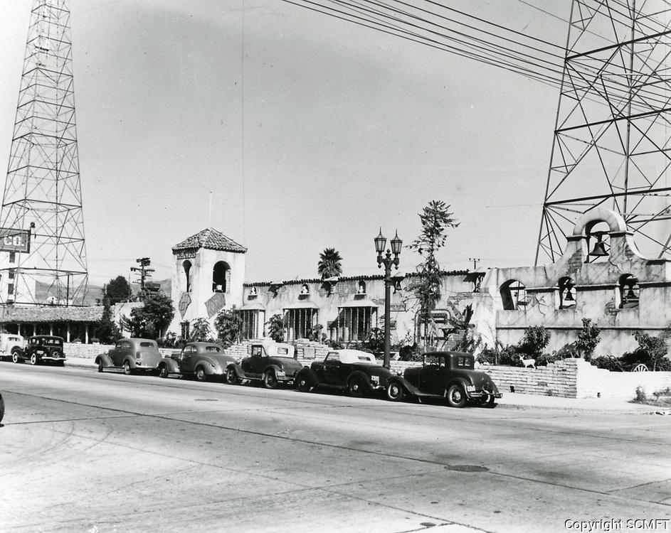 1939 KMTR Radio on Cahuenga Blvd.