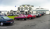 Great Northern Hotel, Bundoran, Co Donegal, Ireland, August, 1999, 199908050<br /> <br /> Copyright Image from Victor Patterson, Belfast, UK<br /> <br /> t: +44 28 9066 1296 (from Rep of Ireland 048 9066 1296)<br /> m: +44 7802 353836<br /> e: victorpattersonbelfast@gmail.com<br /> <br /> www.images4media.com<br /> <br /> Please see my full Terms and Conditions of Use at https://www.images4media.com/p/terms-conditions - it is IMPORTANT that you familiarise yourself with them.<br /> <br /> Images used online incur an additional cost. This cost should be agreed in writing in advance. Online images must be visibly watermarked i.e. © Victor Patterson or that of the named photographer within the body of the image. The original metadata must not be deleted from images used online.<br /> <br /> This image is only available for the use of the download recipient i.e. television station, newspaper, magazine, book publisher, etc, and must not be passed on to a third party. It is also downloaded on condition that each and every usage is notified within 7 days to victorpattersonbelfast@gmail.com.<br /> <br /> The right of Victor Patterson (or the named photographer) to be identified as the author is asserted in accordance with The Copyright Designs And Patents Act (1988). All moral rights are asserted.