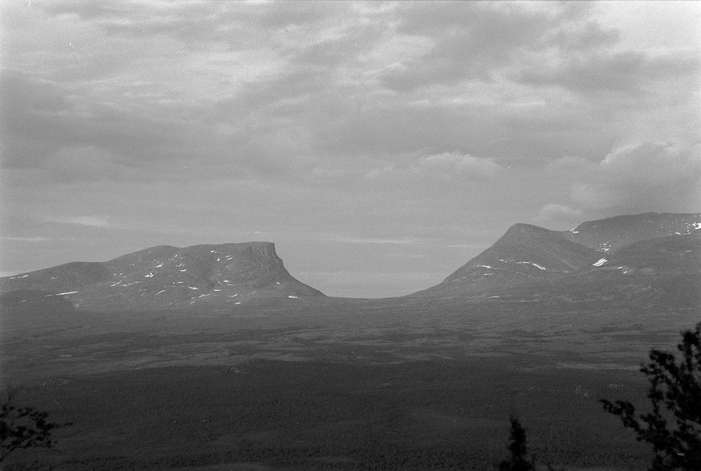 Lapporten, Abisko Lappland