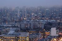 Vancouver Urban Density, False Creek