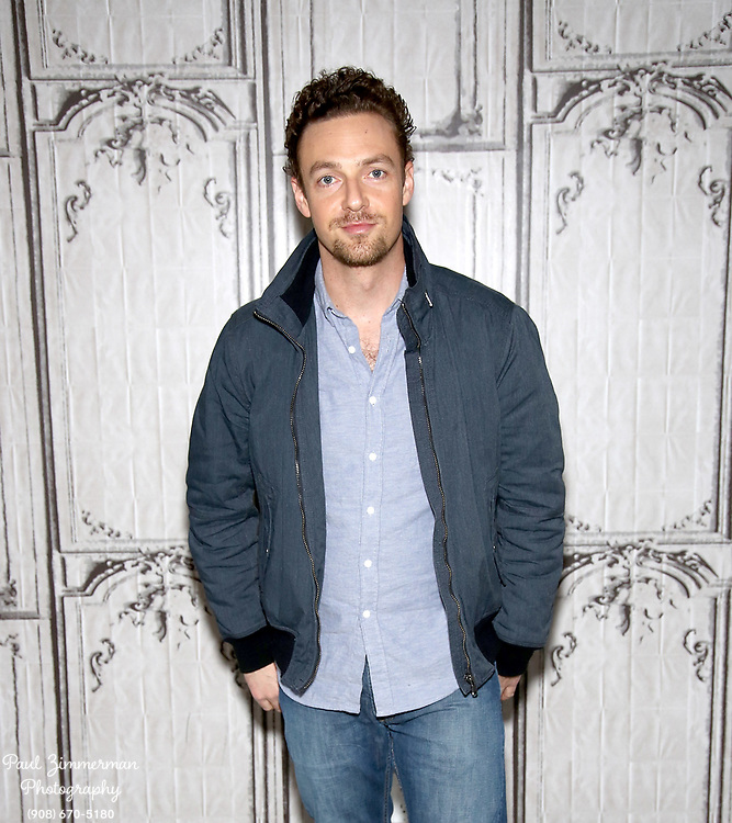 """NEW YORK, NY - DECEMBER 04:  Actor Ross Marquand attends AOL BUILD Presents: Ross Marquand, """"The Walking Dead"""" at AOL Studios In New York on December 4, 2015 in New York City.  (Photo by Paul Zimmerman/WireImage)"""