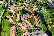 Nederland, Noord-Holland, Gemeente Wijdemeren, 13-06-2017; 's-Graveland, nieuwbouw ten noorden van de Kerklaan.<br /> Village, new neigbourhood.<br /> luchtfoto (toeslag op standard tarieven);<br /> aerial photo (additional fee required);<br /> copyright foto/photo Siebe Swart