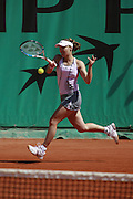 Roland Garros. Paris, France. June 2nd 2006. .Martina Hingis against Zuzana Ondraskova.