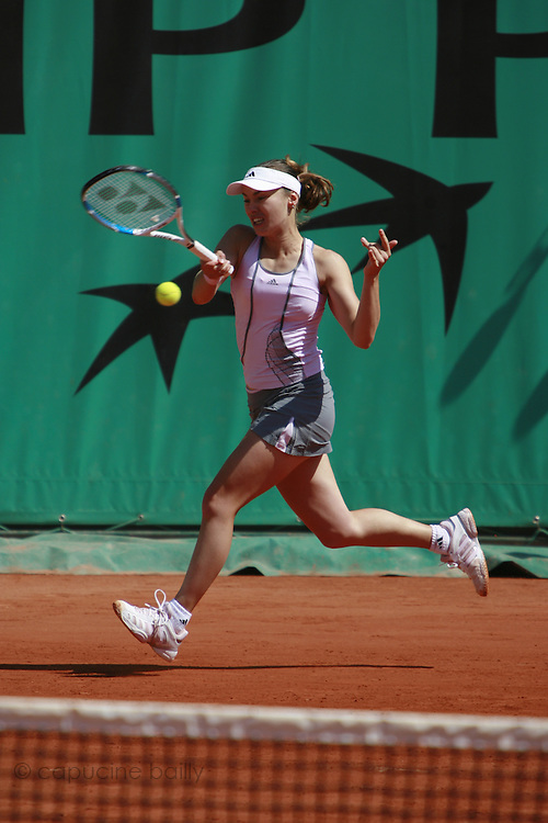 Roland Garros. Paris, France. June 2nd 2006. .Martina Hingis against Zuzana Ondraskova.