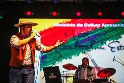 Maiquel Filho se apresenta na 41a Expointer realizada em Esteio, Rio Grande do Sul. FOTO: Gustavo Granata/ Agência Preview