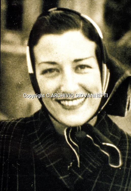 SPAZIANI MARIA LUISA 1953<br />C.ARCHIVIO GIOVANNETTI