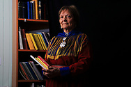 Inga Ravna Eira, poet and president of the Sami Writers Association, writes of herding reindeer on the tundra as a child and of persecution in government boarding schools where the Sami language was banned.