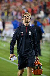 SANTA CLARA, USA - Saturday, July 30, 2016: Liverpool's head of fitness and conditioning Andreas Kornmayer during the International Champions Cup 2016 game against AC Milan on day ten of the club's USA Pre-season Tour at the Levi's Stadium. (Pic by David Rawcliffe/Propaganda)