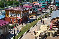 Russie, Siberie, Oblast d'Irkoutsk, Irkoutsk, nouveau quartier de 130 Kvaral // Russia, Siberia, Irkutsk, new 130 Kvaral area