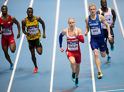 07.03.2014, Ergo Arena, Sopot, POL, IAAF, Leichtathletik Indoor WM, Sopot 2014, Tag 1, im Bild PAVEL MASLAK // PAVEL MASLAK during day one of IAAF World Indoor Championships Sopot 2014 at the Ergo Arena in Sopot, Poland on 2014/03/07. EXPA Pictures © 2014, PhotoCredit: EXPA/ Newspix/ Rafal Oleksiewicz<br /> <br /> *****ATTENTION - for AUT, SLO, CRO, SRB, BIH, MAZ, TUR, SUI, SWE only*****