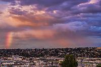 OCTOBER 14th:  Rush Hour Rainbow