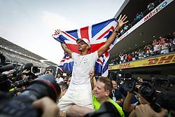 October 30, 2017 - Mexico-City, Mexico - Motorsports: FIA Formula One World Championship 2017, Grand Prix of Mexico, .#44 Lewis Hamilton (GBR, Mercedes AMG Petronas F1 Team) (Credit Image: © Hoch Zwei via ZUMA Wire)