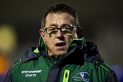 December 24, 2017 - Galway, Ireland - Kieran Keane Head Coach of Connacht  pictured during the Guinness PRO14 Round 11 match between Connacht Rugby and Ulster Rugby at the Sportsground in Galway, Ireland on December 23, 2017  (Credit Image: © Andrew Surma/NurPhoto via ZUMA Press)