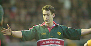 Leicester. ENGLAND. Welford Road. 14.12.2002. Pool Game in the<br /> European Heineken Cup Rugby <br /> Leicester Tigers vs Beziers<br /> Tom Tierney   [Mandatory Credit:Peter SPURRIER/Intersport Images]