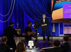 Joaquin Phoenix presents the Oscar® for Actor in a Leading Role during the live ABC Telecast of The 93rd Oscars® at Union Station in Los Angeles, CA, USA on Sunday, April 25, 2021. Photo by Todd Wawrychuk/A.M.P.A.S. via ABACAPRESS.COM