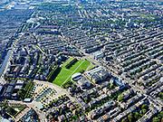 Nederland, Noord-Holland, Amsterdam, 02-09-2020; Amsterdam-Zuid, overzicht Museumplein met Stedelijk Museum en Van Gogh museum. Aan de Van Baerlestraat het Concertgebouw.<br /> <br /> luchtfoto (toeslag op standard tarieven);<br /> aerial photo (additional fee required);<br /> copyright foto/photo Siebe Swart