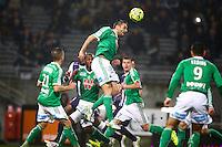 Loic Perrin - 28.02.2015 - Toulouse / Saint Etienne - 27eme journee de Ligue 1 -<br />Photo : Manuel Blondeau / Icon Sport