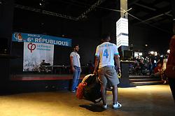 June 11, 2017 - Marseille, FRANCE - Soiree electorale du 1er tour des elections legislavites de Jean Luc Melenchon - Candidat La France Insoumise (LFI) dans la 4eme circonscription des Bouches du Rhone (Credit Image: © Panoramic via ZUMA Press)