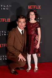 Outlaw King Premiere, Edinburgh, Friday 19th October 2018<br /> <br /> Outlaw King is a Netflix film and follows 14th century Scottish king Robert the Bruce prior to his coronation and through to his rebellion against the English, who at the time were occupying Scotland.<br /> <br /> Stars, crew and guests appear on the red carpet for the Scottish premiere.<br /> <br /> Pictured: Chris Pine and Josie O'Brien<br /> <br /> Alex Todd | Edinburgh Elite media