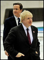 The PrIme Minister and Boris Johnson
