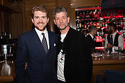 WILL ST. JOHN, WARREN JELLY VODKA, The launch of HI-NOON a photography exhibition at Tramp, London. 29 October 2019