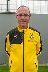 15.07.2015, Dortmund, AUT, 1. FBL, Borussia Dortmund, Fototermin, im Bild Zeugwart Frank Graefen ( Borussia Dortmund / Portrait ) // during the official Team and Portrait Photoshoot of German Bundesliga Club Borussia Dortmund at the Dortmund, Germany on 2015/07/15. EXPA Pictures © 2015, PhotoCredit: EXPA/ Eibner-Pressefoto/ Thienel<br /> <br /> *****ATTENTION - OUT of GER*****