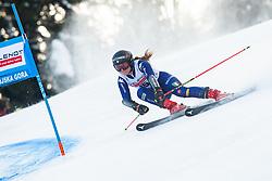 Sofia Goggia (ITA) during Ladies' Giant Slalom at 57th Golden Fox event at Audi FIS Ski World Cup 2020/21, on January 17, 2021 in Podkoren, Kranjska Gora, Slovenia. Photo by Vid Ponikvar / Sportida