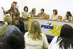 Reunião das mulheres do PSDB. FOTO: Jefferson Bernardes/Preview.com