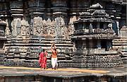 Ruins of Temples of Hoysala Empire, Karnataka, India.