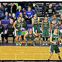 1.30.2015 Elyria Catholic at Vermilion Boys Varsity Basketball