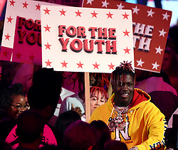 LOS ANGELES - AUGUST 13: Lil Yachty performs onstage at FOX's 'Teen Choice 2017' at the Galen Center on August 13, 2017 in Los Angeles, California. (Photo by Frank Micelotta/FOX/PictureGroup) *** Please Use Credit from Credit Field ***