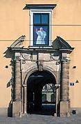 Pałac Biskupi, ulica Franciszkańska 3 w Krakowie, Polska<br /> Bishop's Palace, Franciszkańska Street 3 in Cracow, Poland