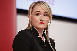 May 19, 2017 - London, London, UK - London, UK. Shadow Chancellor John McDonnell and Shadow Business Secretary REBECCA LONG-BAILEY hold a press conference to oppose pledges made in Conservatives manifesto that threatens living standards of pensioners and working people on Friday, 19 May 2017 in central London. (Credit Image: © Tolga Akmen/London News Pictures via ZUMA Wire)
