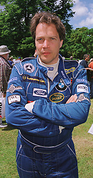 The EARL OF MARCH at a car rally in West Sussex on 20th June 1999.MTM 2