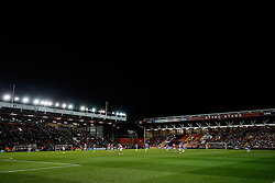 General View as the match gets underway - Photo mandatory by-line: Rogan Thomson/JMP - 07966 386802 - 29/01/2015 - SPORT - FOOTBALL - Bristol, England - Ashton Gate Stadium - Bristol City v Gillingham - Johnstone's Paint Trophy Southern Area Final Second Leg.